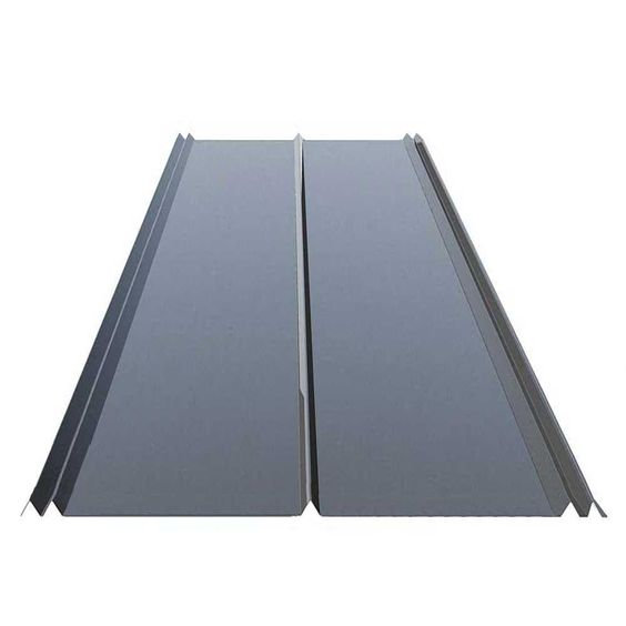 Gibraltar Building Products 12 Ft 5v Crimp Galvanized Steel 29 Gauge Roof Panel 13343 The Home Depot Metal Roofing Prices Steel Roof Panels Polycarbonate Roof Panels
