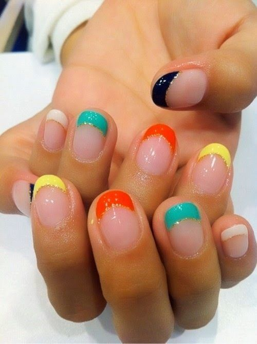 Easy Colorful Nails Summer 2014 img5856622d7a649615e