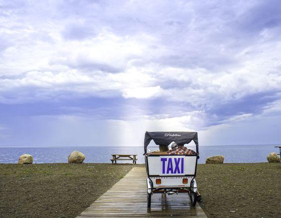 Riding in style on Beresford Beach | Acadian Coast, New Brunswick #ExploreNB