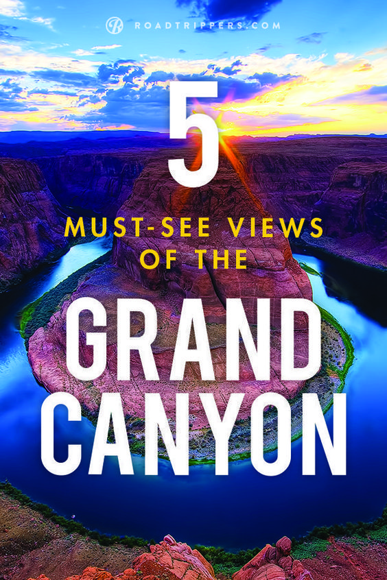 Don't miss any of the breathtaking views the Grand Canyon has to offer.