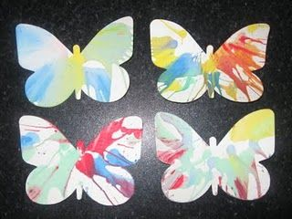 Salad spinner butterflies (or any animal/theme)