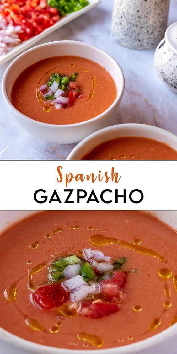 Gazpacho-Diät