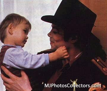 Little prince with daddy