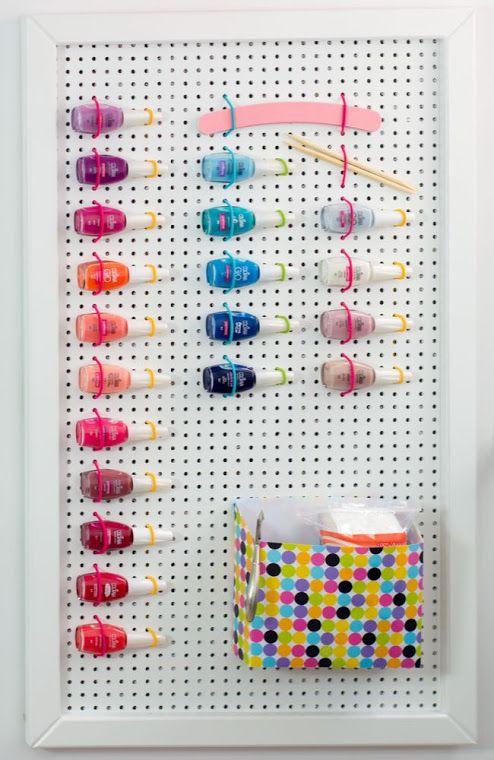 Tu Organizas.: Pegboard | 7 ideias inustadas para organizar e decorar
