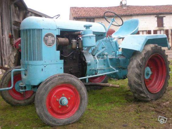 Tracteur TITUS U22W vigneron