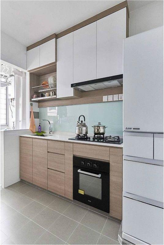 Modern Minimalist Hdb Design By Ea Interior Design Design Ideas Simple Kitchen Design Kitchen Design Modern Contemporary Interior Design Kitchen
