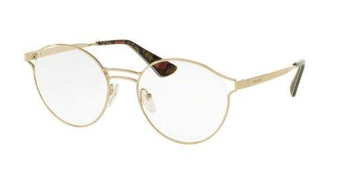 Eyeglasses Prada PR 62TV ZVN1O1 Pale Gold