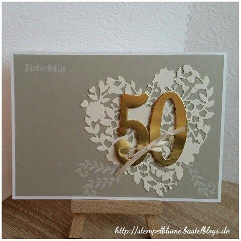 best 25+ einladung goldene hochzeit ideas only on pinterest, Einladungen