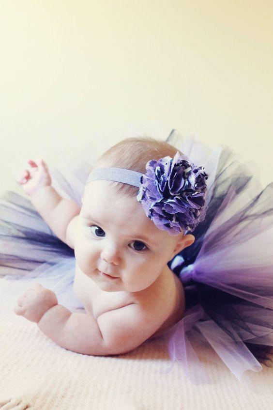 precious!  Cayden looks so cute in purple