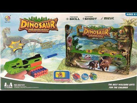 لعبة الرماية على الديناصورات لعبة جديدة ممتعة ومسلية للاطفال الصغار Youtube Dinosaur Kids News Games Dinosaur