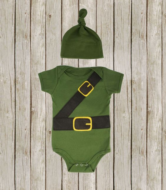 Link baby onesie legend of zelda inspired by PurpleTentacleShop, $35.00