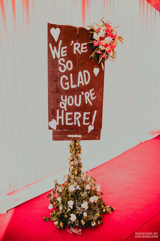 Amazing Wedding Sign Board Ideas to Spot, a08dcf23ab124c32ad032fc925fb62d0