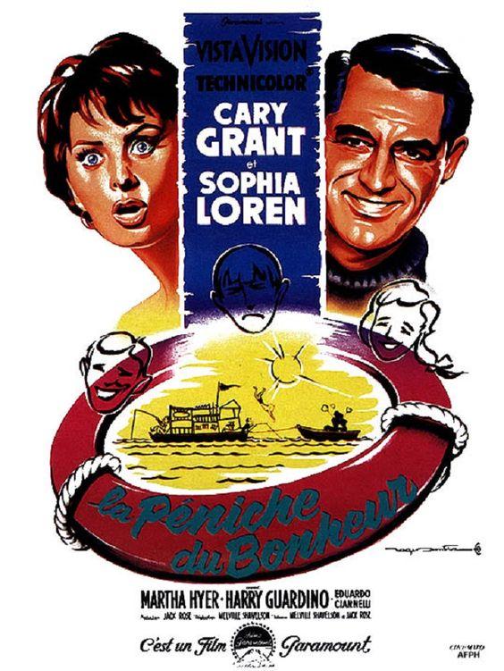 1959 Acteur de Comédie Gary GRANT 1959 Meilleur Comédie Melville SHAVELSON