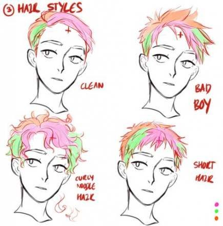 39 Trendy Drawing Hair Male Curly Hair Drawing Guy Drawing