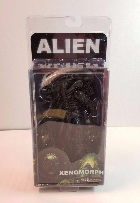 """Movie NECA 1979 Classic Original Alien 7/"""" Action Figure New in Box"""