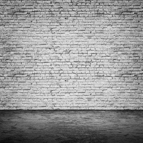 Black White Brick Wall 10 39 X 10 39 Cp Backdrop Computer