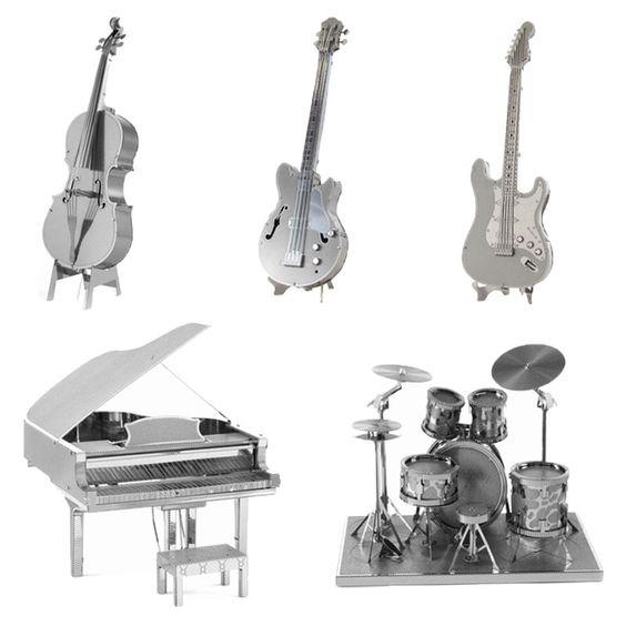 $2.11 (Buy here: https://alitems.com/g/1e8d114494ebda23ff8b16525dc3e8/?i=5&ulp=https%3A%2F%2Fwww.aliexpress.com%2Fitem%2F3D-Metal-Puzzles-DIY-Model-Musical-Instrument-Band-Bass-Guitar-Violoncello-Piano-Drum-kit-Children-Jigsaws%2F32371319898.html ) Finger Rock 3D Metal Puzzles DIY Model Musical Instrument Band Guitar Violoncello Piano Drum Kit Children Toys Present Gift for just $2.11