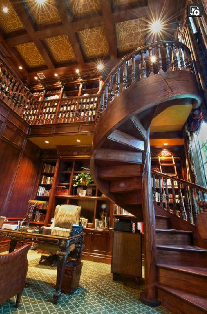 Two-story Study with Loft