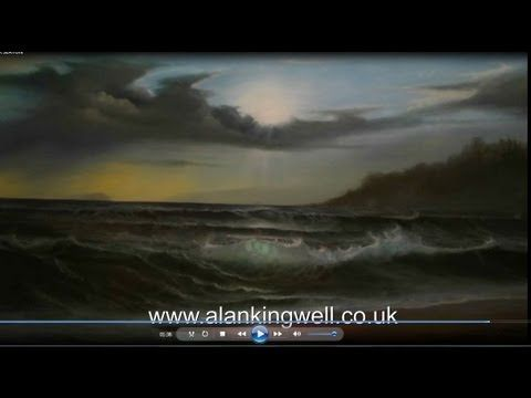 NEW OIL PAINTING TUTORIAL DVD BY ALAN KINGWELL