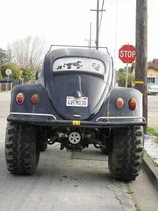 Big n wide monster volkswagen bug