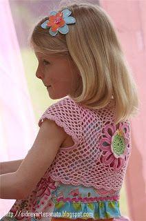 Sidney Artesanato: ......Blusinhas fofas para meninas lindinhas.....
