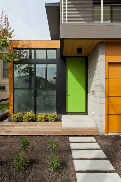 9 Daring Colors For Your Front Door Houzz Http Www
