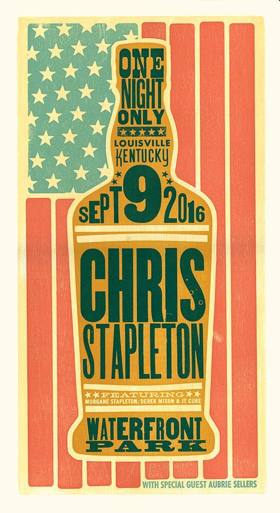 chris stapleton poster prints