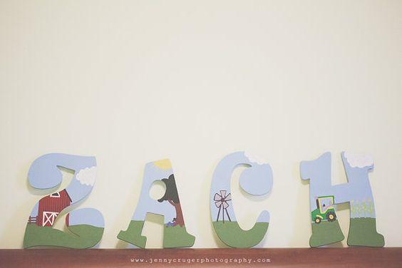 Wood Nursery Letters