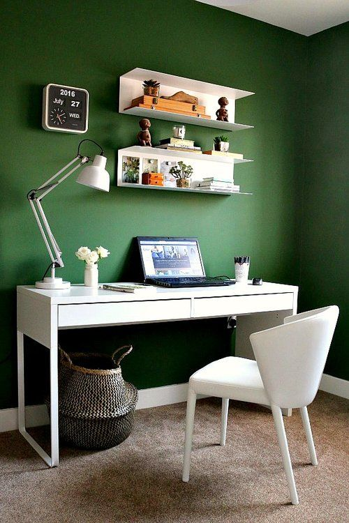 28 Beautiful Home Office Ideas To Pin Right Now Green Home