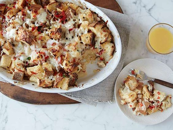 Breakfast Bake #ComfortFoodFeast: Food Network, Food Breakfast, Italian Sausage, Bake Foodnetwork, Recipes Breakfast, Stale Bread, Breakfast Brunch