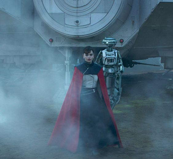 """Emilia Clarke as Qi'ra from Solo: A Star Wars Story """