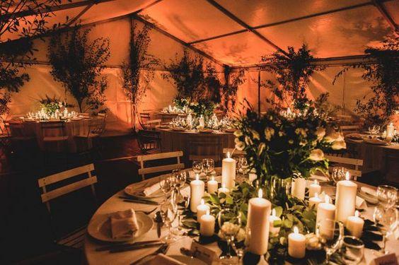 Tendencias del 2016 para decorar las mesas del banquete de tu boda: ¡30 fabulosas opciones! Image: 24