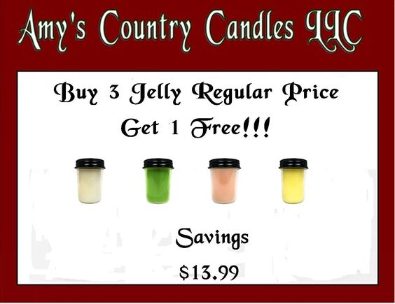 Buy 3 Jelly Get 1 Free