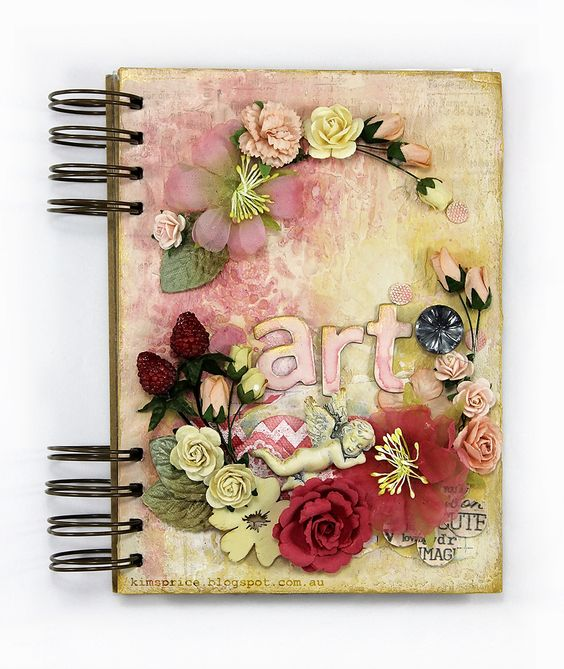 A Shabby Style Art Journal - Wendy Schultz - Art Journals.l .