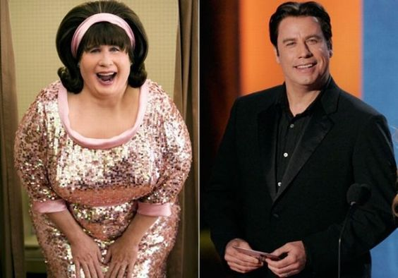 John Travolta vs Edna Turnblad (Hairspray)