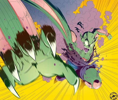 signsoflifeonmars:  Some Piccolo fan art to get my mind right