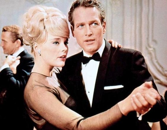 Elke Sommer and Paul Newman in The Prize (1963):
