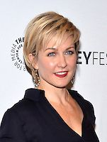 "Actress Amy Carlson attends the 2nd Annual Paleyfest of ""Blue Bloods"" at the Paley"