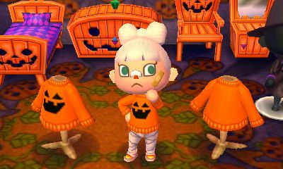animal crossing new leaf qr animal crossing fall clothes pinterest animal crossing qr codes and leaves - Halloween Animal Crossing City Folk