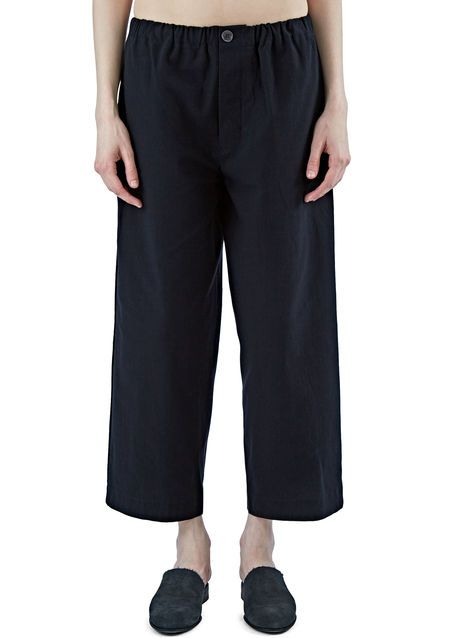 High-Waisted Straight Leg Pants