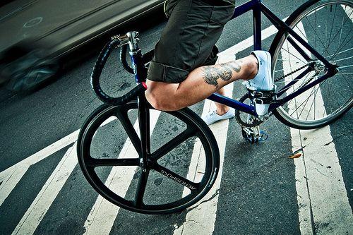 bikes wheels and tattoo legs on pinterest. Black Bedroom Furniture Sets. Home Design Ideas