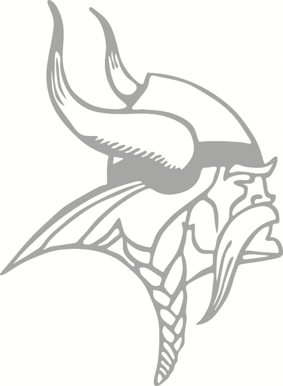 Minnesota Vikings Logo Vinyl Cut Out Decal Choose Your