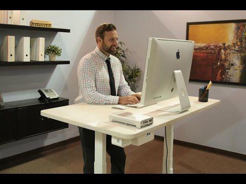 Only $500! 전자동 ERGO: Worlds First Smart Standing Desk That Talks | Indiegogo