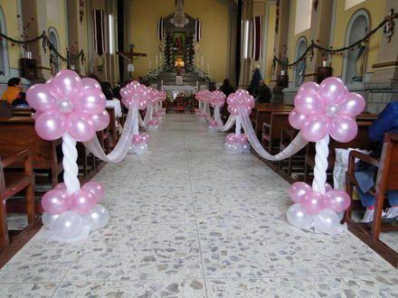Decoraciones faciles con globos fotos de excelentes - Decoracion bodas con globos ...