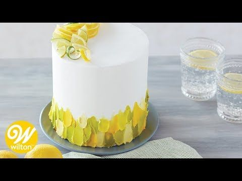 How To Spatula Paint With Icing Recipe Buttercream Cake Decorating Spatula Painting Cake Decorating Designs
