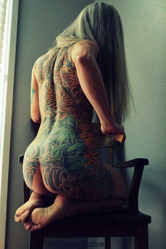 (NSFW) When you get older (Warning: Nudity) - Tattoo Spirit