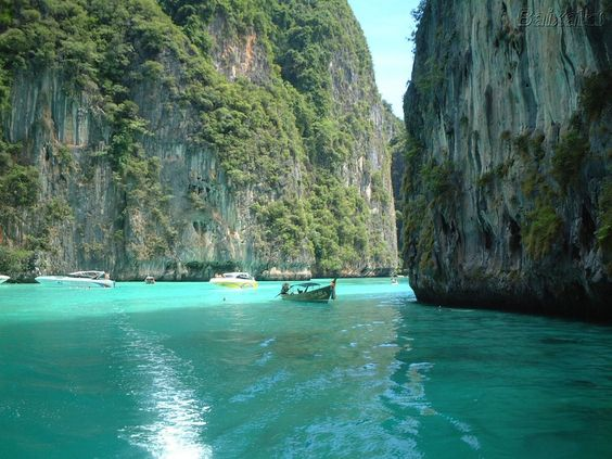 ko phi phi beach thailand. i want to go snorkeling there