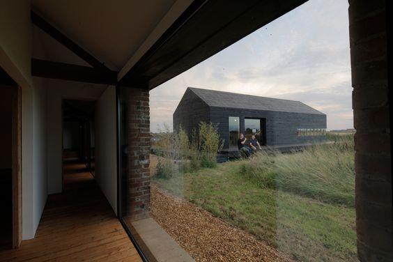Carl Turner Architects Ocre Barn & Stealth Barn