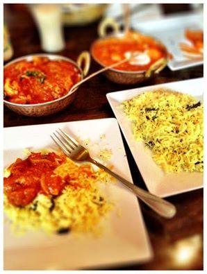Ryż z przyprawami + smakowite curry = doskonały obiad w Namaste India. :) #kuchnia #restauracje