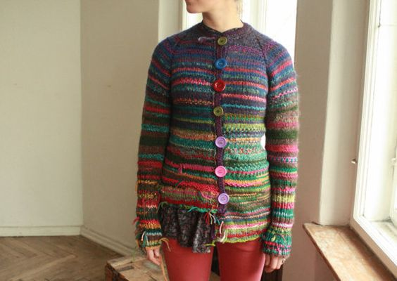 Women's cardigans, Cardigans and Handmade on Pinterest